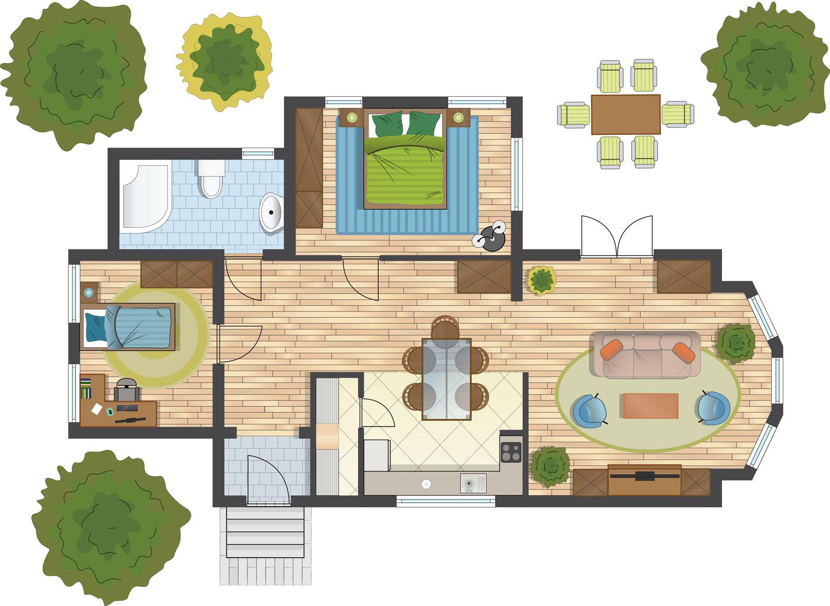 floor plan uj